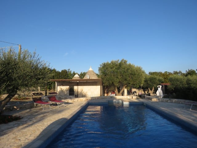 Recently renovated Trulli and lamie with pool