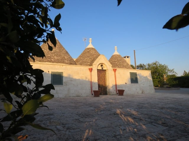 2 bedrooms renovated trulli with land