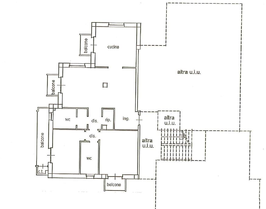 Ground floor apartment of new construction