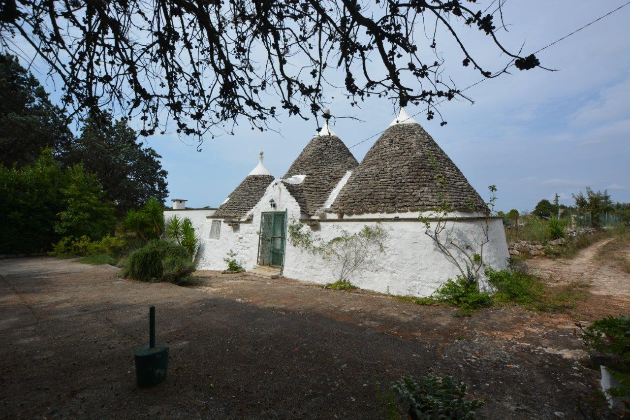 Restored Trulli for Sale with Pine Forest in Martina Franca