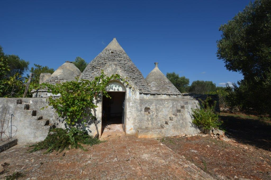 Ceglie Messapica Trulli For Sale with one hectar of Land