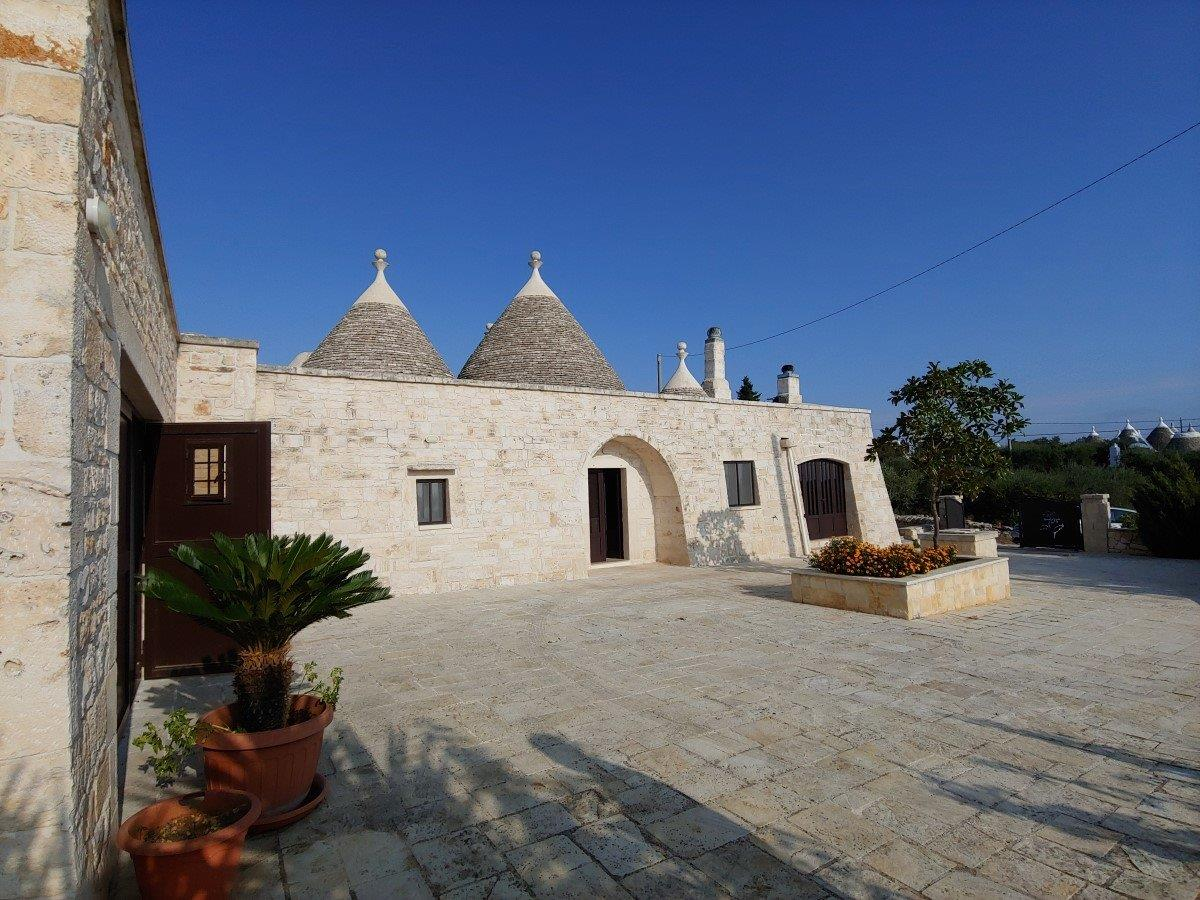 Ancient trulli house completely restored